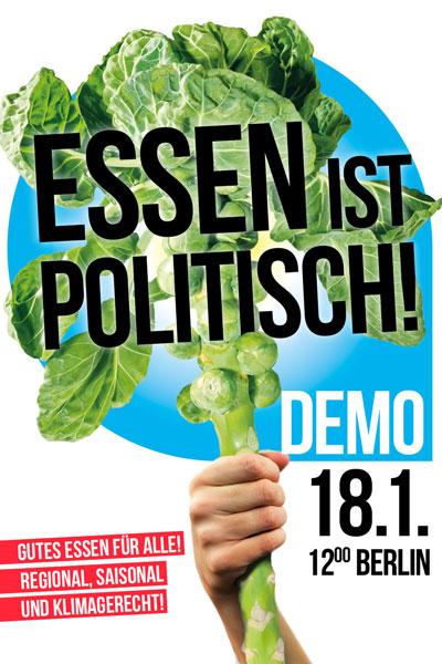 Wir haben es satt - Demo 18. Januar 2020 - Berlin